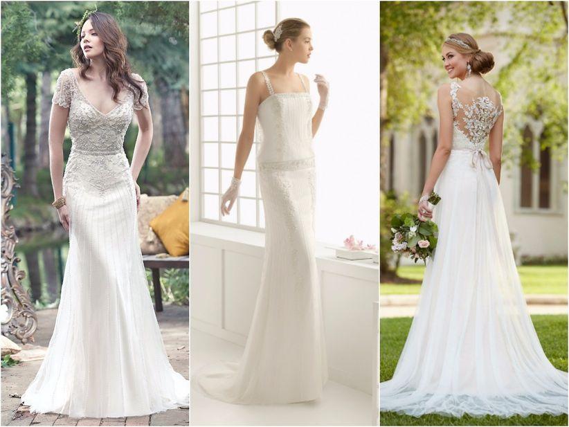 Vestidos ideales para una boda