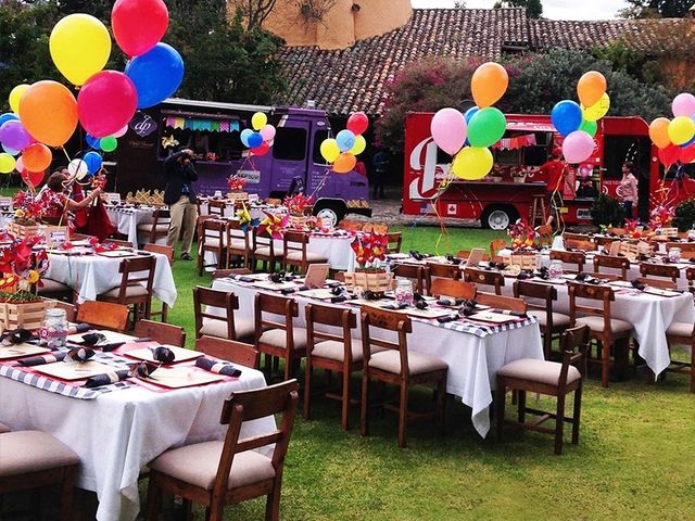 Un divertido matrimonio Foodtruck a todo color