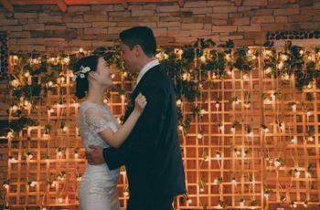 Dos culturas y una historia de amor en el matrimonio de Mario y Lee