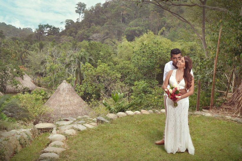 Matrimonio Simbolico En Santa Marta : Diana y bernardo un matrimonio en el parque tayrona