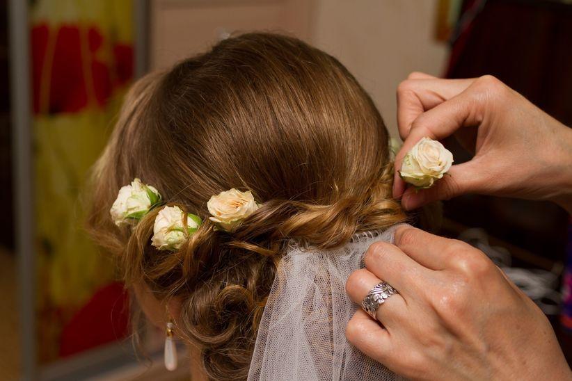 20 recogidos bajos para tu peinado de novia - Peinados Bajos