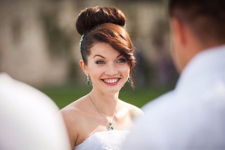 20 hermosos peinados de boda con flecos