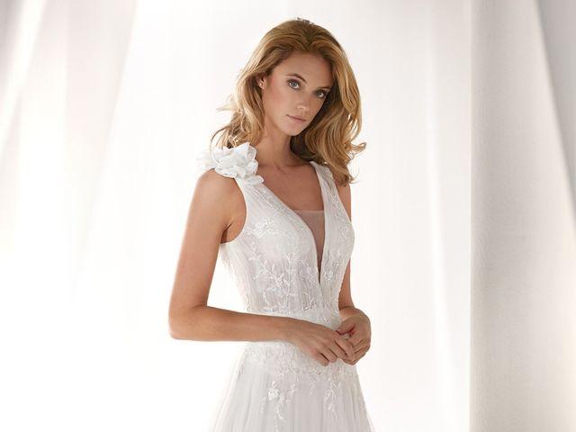 Nicole 2019: vestidos de novia llenos de personalidad y encanto