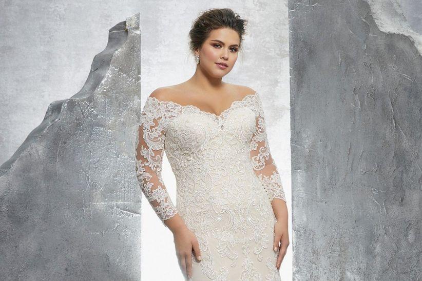 da4b5da18f Vestidos de novia para gorditas  los 60 modelos más encantadores
