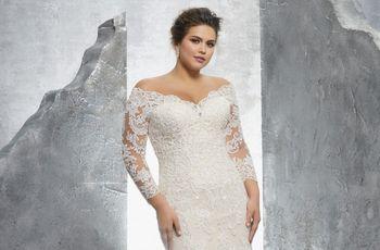 Vestidos de novia para gorditas: los 60 modelos más encantadores