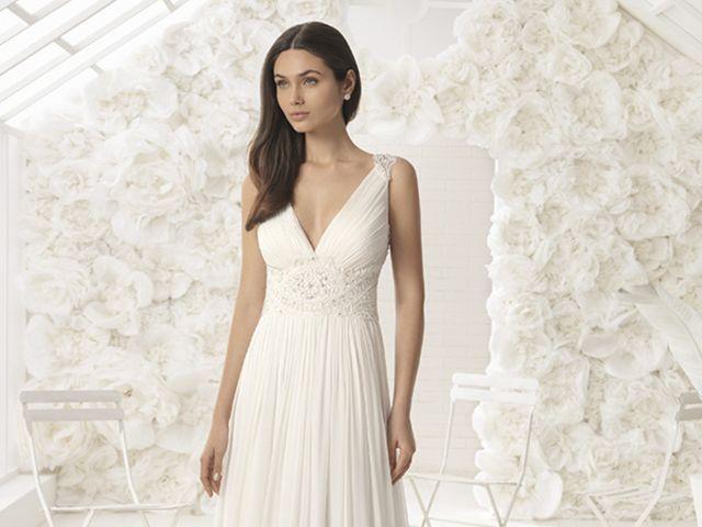 30 vestidos aliados para novias de baja estatura