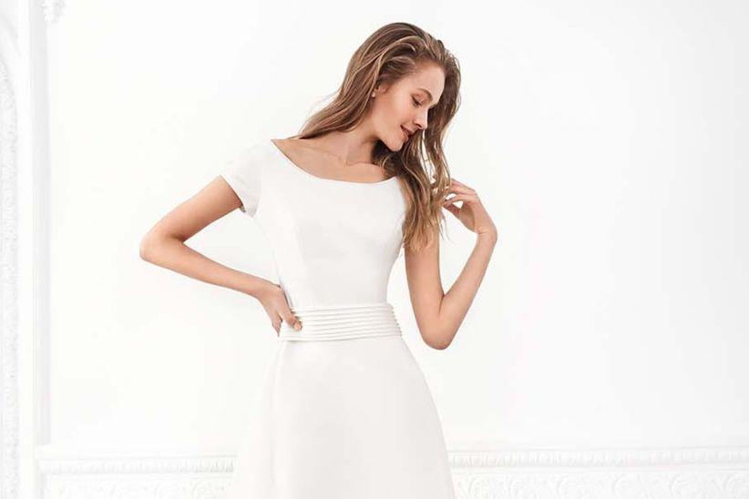 30 bellísimas opciones de vestido de novia para ceremonia civil