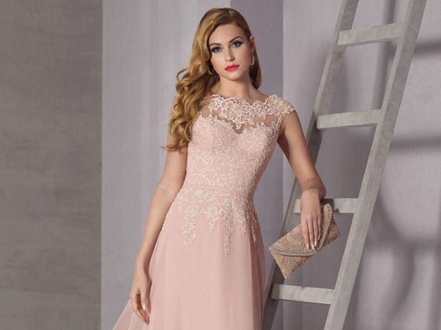 Vestidos modernos para asistir a bodas