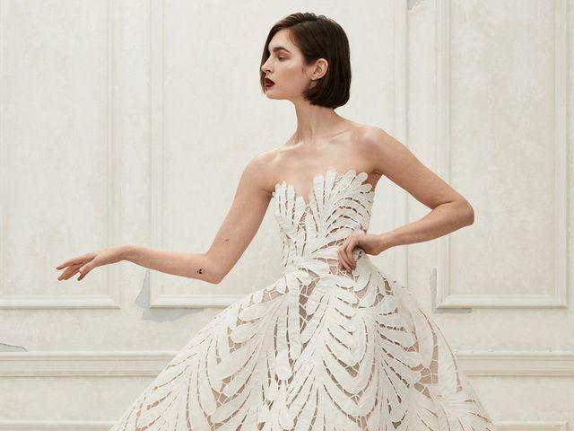 Lo nuevo en vestidos de novia Óscar de la Renta 2019