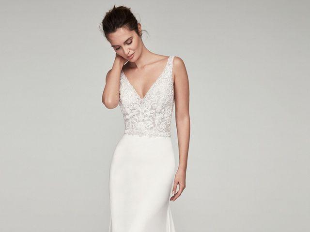 Vestidos de novia corte sirena: una galería para que elijas tu favorito