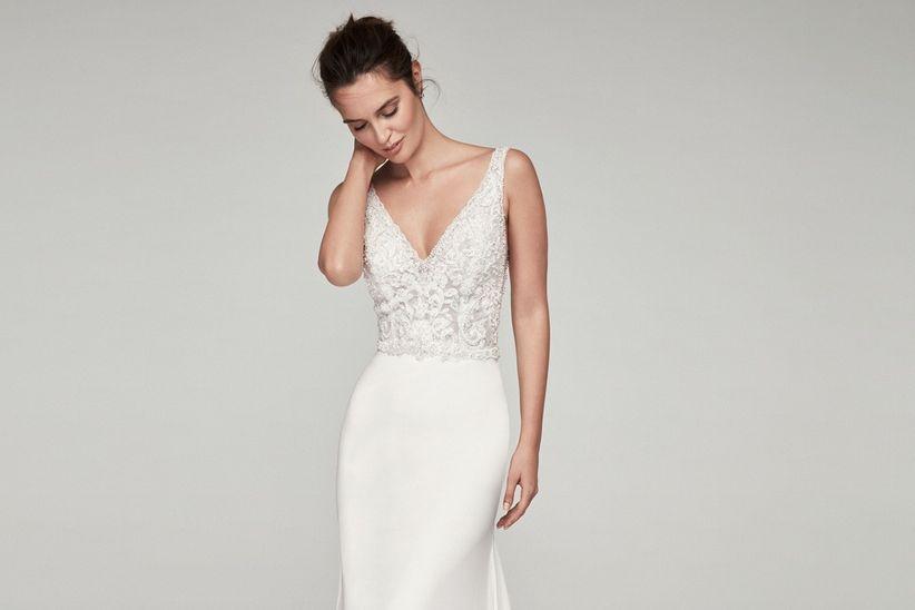 dd790e38de16 Vestidos de novia corte sirena: una galería para que elijas tu favorito