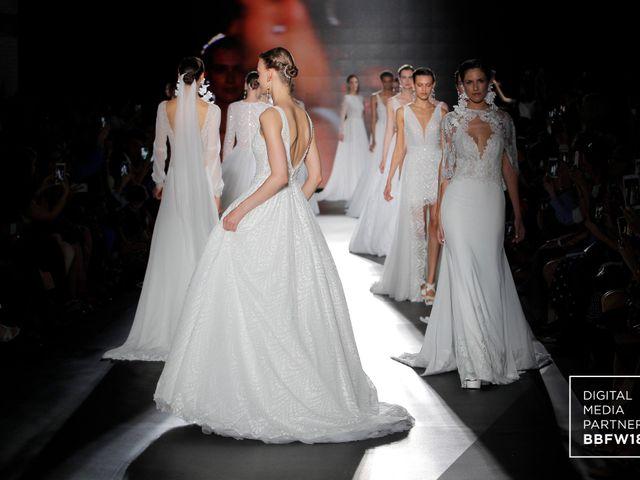 Rosa Clará presentó su nueva colección de vestidos de novia 2019 en la Barcelona Bridal Fashion Week