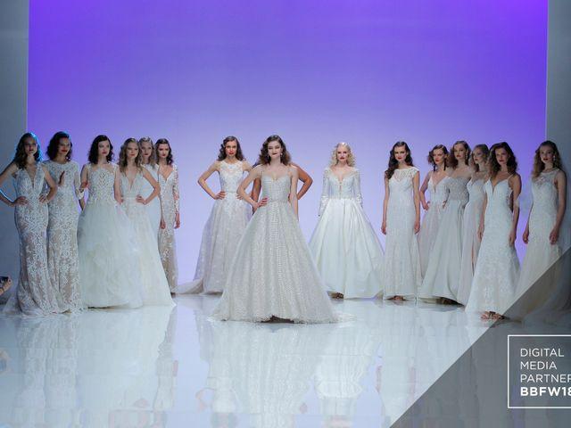 Vestidos de novia Maggie Sottero 2019 que desfilan en la Barcelona Bridal Fashion Week