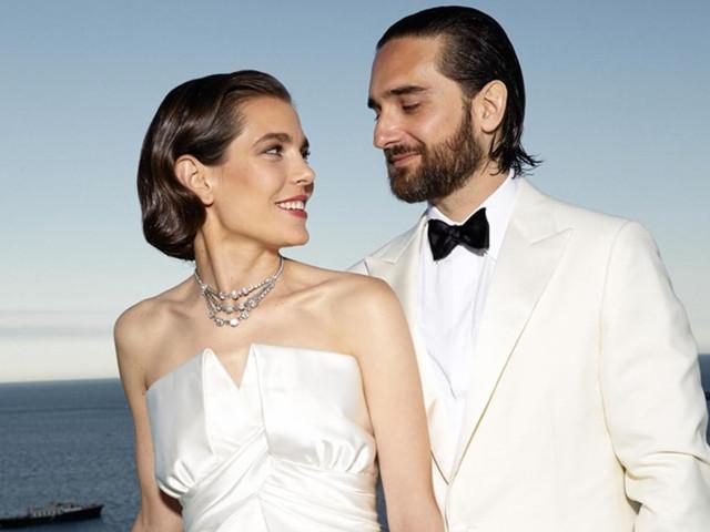 El matrimonio de Carlota Casiraghi y Dimitri Rassam
