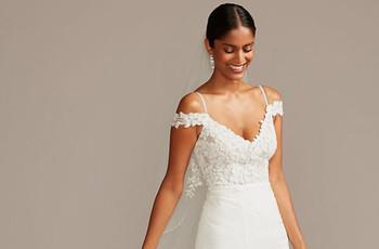 Lo último en vestidos de novia David's Bridal para 2020 | 2021