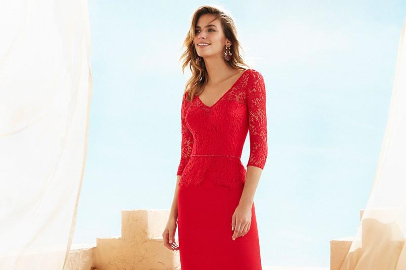 6776c9ef98e1 Vestidos rojos cortos: 34 modelos llamativos y seductores