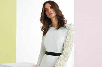 Vestidos de cóctel blanco para lucir como invitada de boda