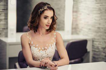 Peinados en cabello corto para novia: descubre cuáles son tus opciones
