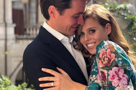 La princesa Beatriz de York se casa con Edoardo Mapelli