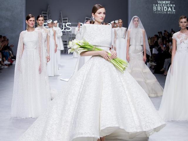 Vestidos de novia Jesús Peiró 2020: un guiño a las novias clásicas