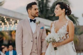 La sorprendente boda de Carmen Villalobos y Sebastián Caicedo
