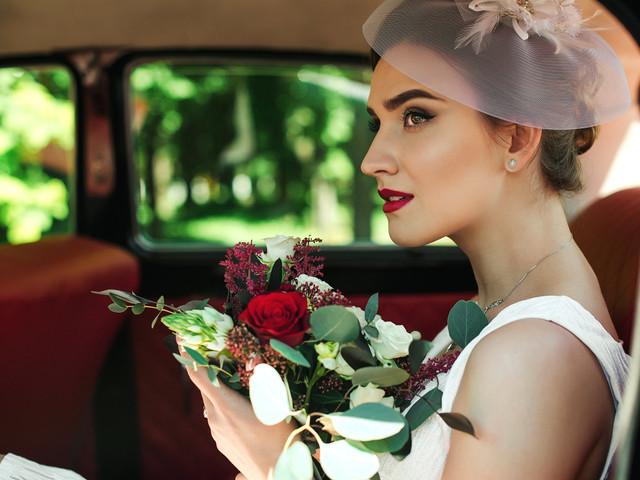 Peinados de novia 'vintage'