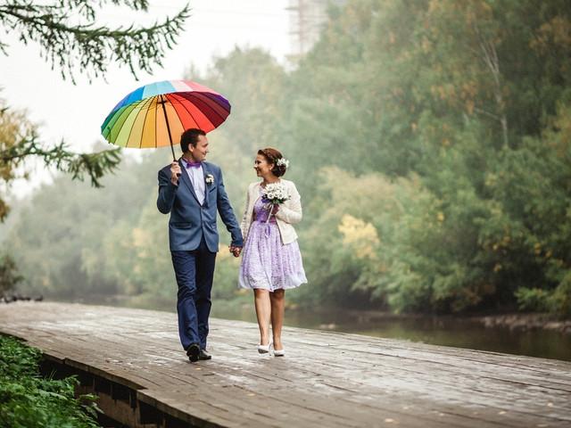 ¿Qué hacer si el pronóstico indica que hay lluvia el día de su boda?