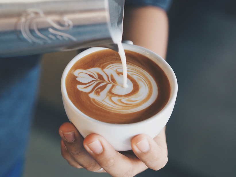 servir café en el matrimonio