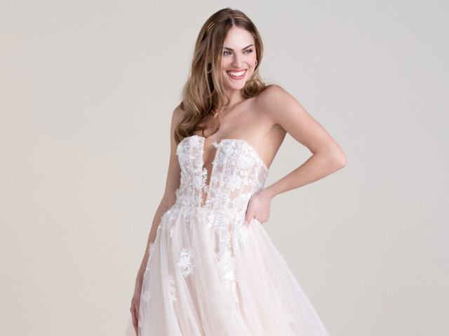 Las tendencias en vestidos de novia del Virtual Show de The Knot Couture 2021