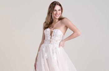Las tendencias en vestidos de novia del Virtual Show de The Knot Couture 2021
