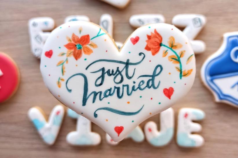 galletas personalizadas para boda como recuerdos