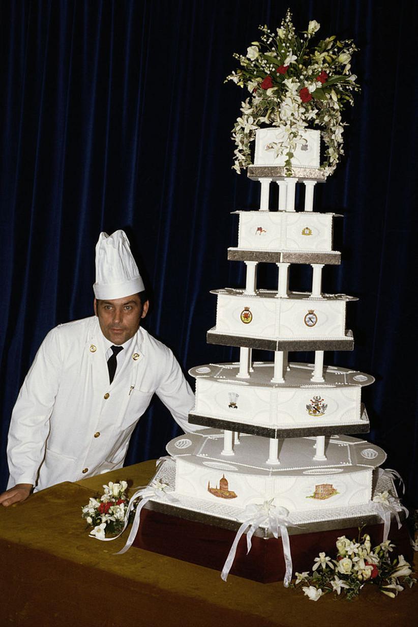 pastel boda de lady Di y carlos
