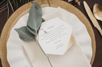 ¿Qué necesitan para organizar un matrimonio minimalista?
