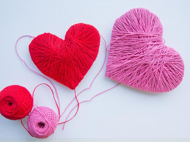 DIY: Porta argollas en forma de corazón