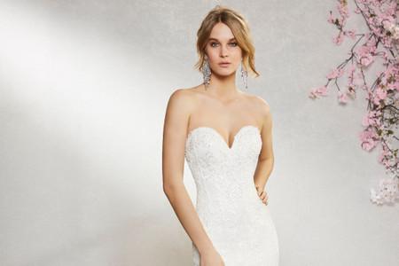 8 razones para elegir el escote corazón para el vestido de novia