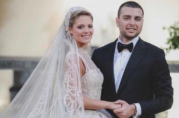 El hijo del diseñador libanés Elie Saab se casó