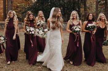 Las 6 cosas que las damas de honor necesitan que como novia sepas