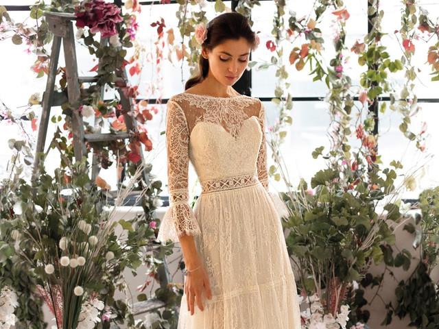 20 vestidos de novia para un look vintage