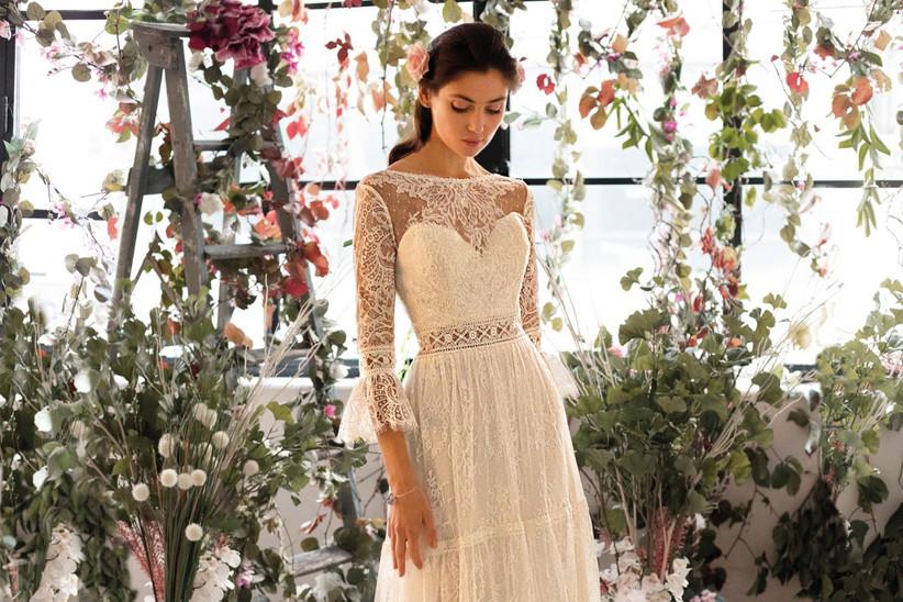 a924e2042d5f 20 vestidos de novia para un look vintage