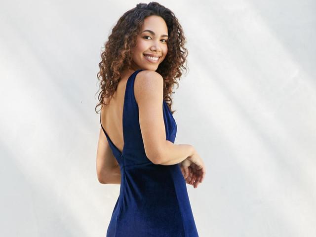 Vestidos de fiesta azules: ¡brilla en el próximo matrimonio!