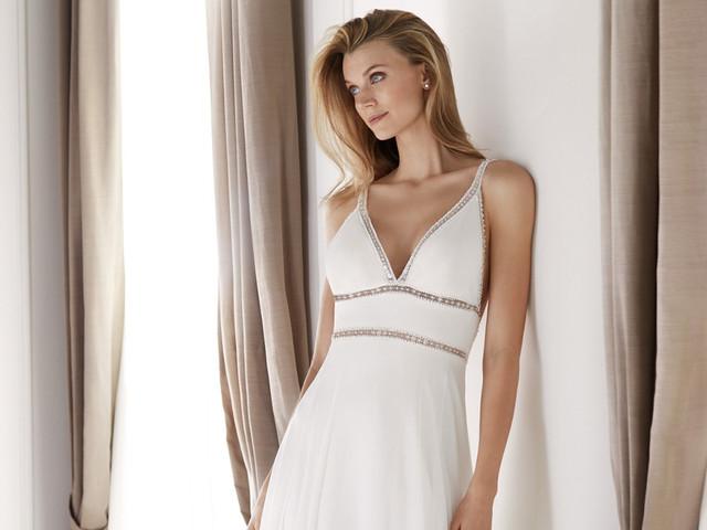 Los vestidos de novia corte imperio más bonitos