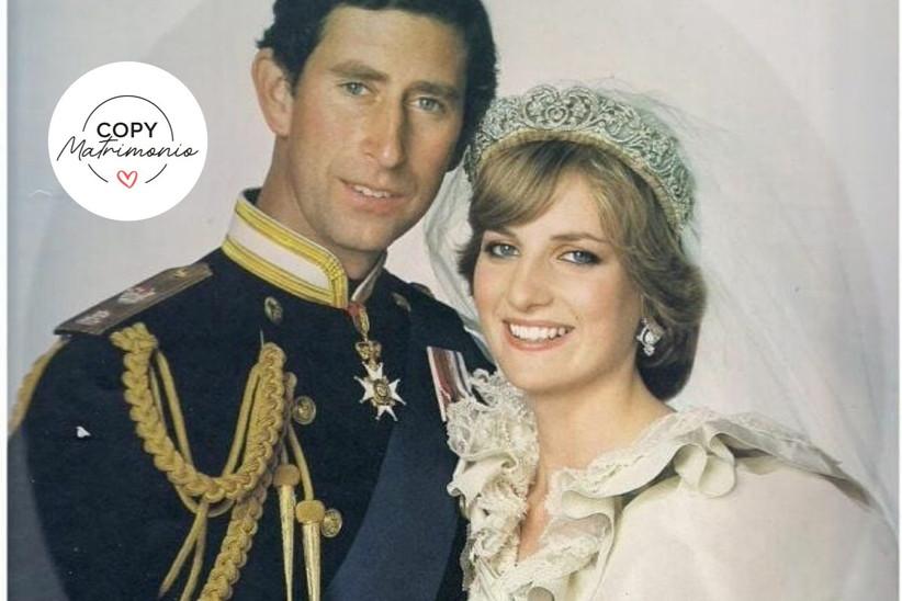 matrimonio princesa Diana de Gales