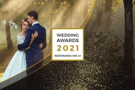 Descubran quiénes son los ganadores de la 3ª edición de los Wedding Awards 2021