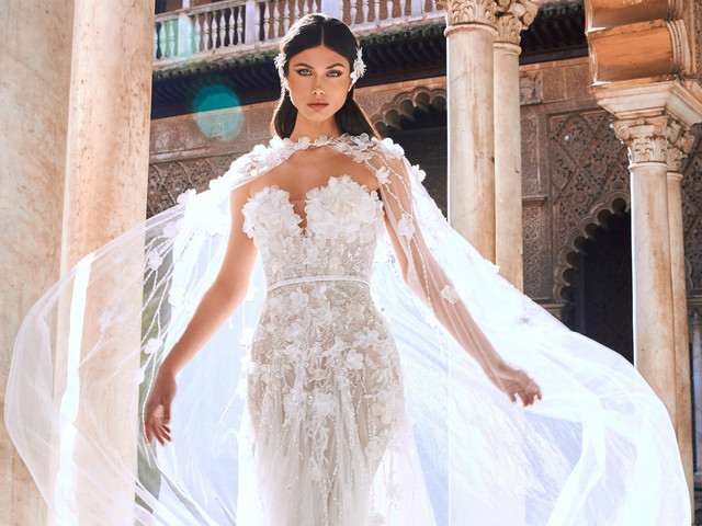 Sucumbe a las nuevas colecciones de vestidos de novia Pronovias 2022