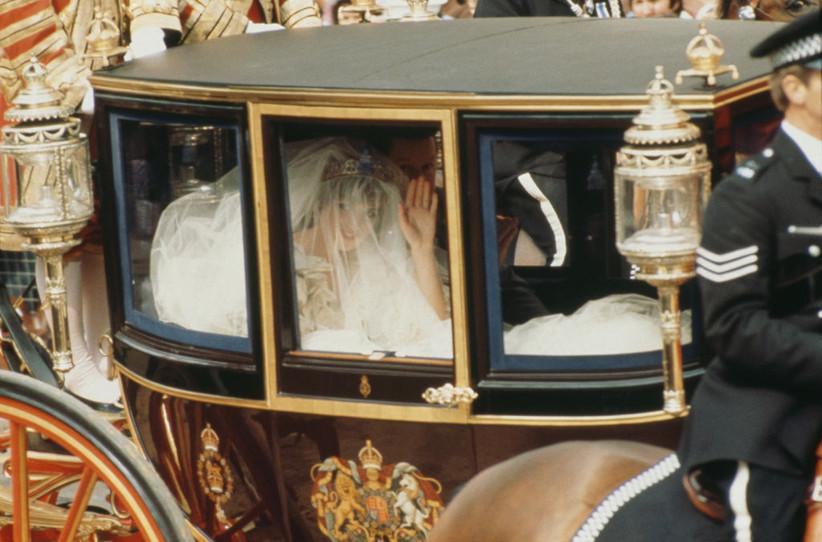 carruaje princesa diana el día de su boda