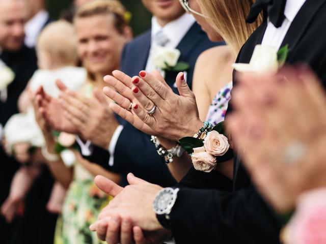 20 cosas que los invitados de boda no deberían hacer