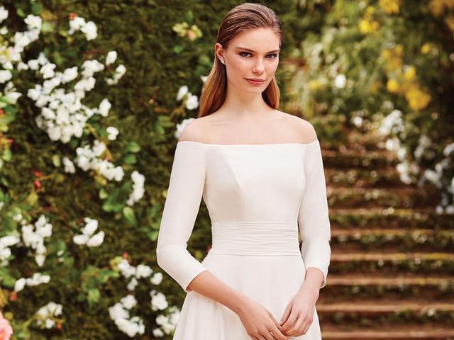 Vestidos de novia con manga: ¡luce todo tu encanto camino al altar!