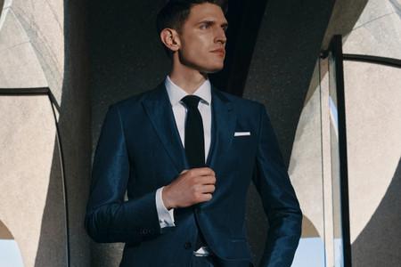 Trajes Hugo Boss para novios con estilo
