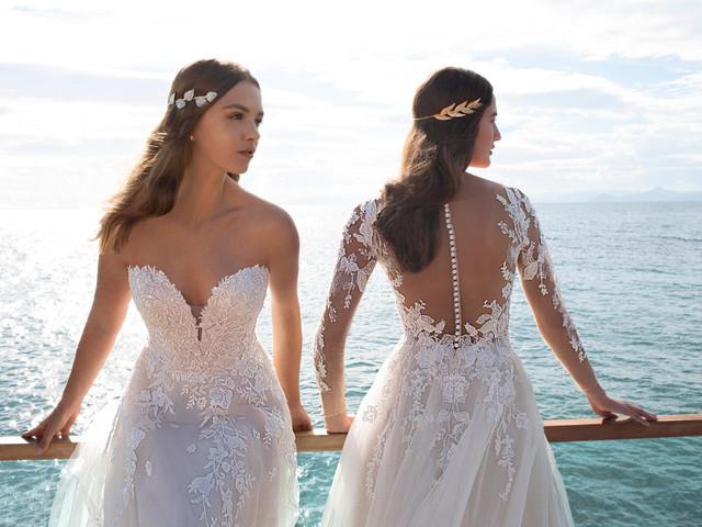 Vestidos de novia Cosmobella 2020: una combinación entre lo clásico y lo moderno