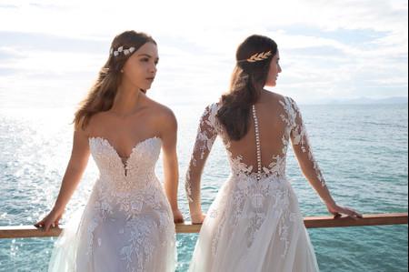 Cosmobella 2020: vestidos de novia clásicos y modernos